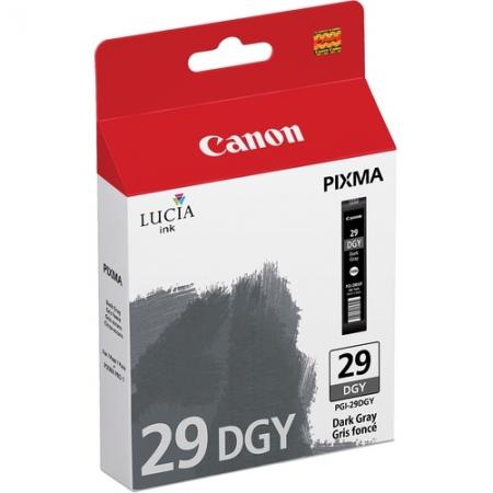 Canon PGI-29DGY Gri Inchis - cartus imprimanta Canon Pixma PRO-1