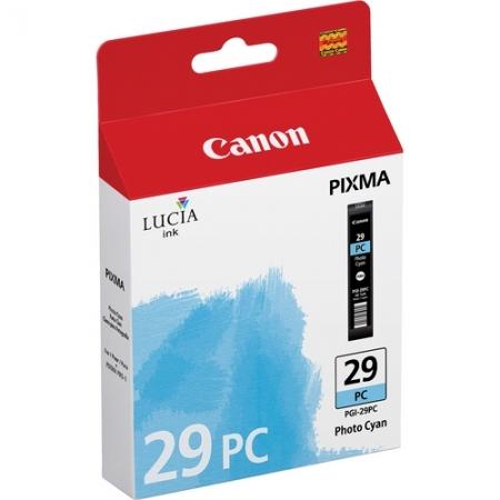 Canon PGI-29PC Cyan Foto - cartus imprimanta Canon Pixma PRO-1