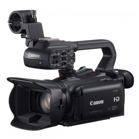Canon XA25 - camera video semi-profesionala, wide 26,8 mm, Wi-Fi