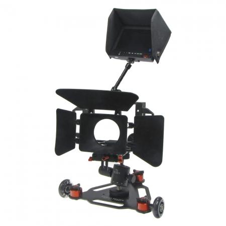 Capa Cinema Skater Z5 - Kit camera rig VDSLR + Follow focus