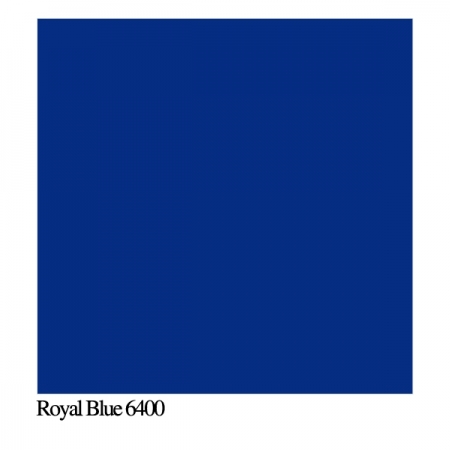Colorama Royal Blue 6400 - Fundal PVC 100x130cm mat
