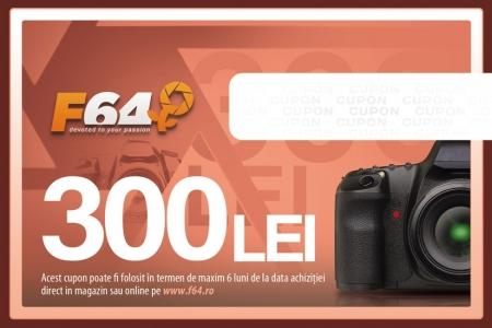 Cupon CADOU F64 - in valoare de 300 Lei
