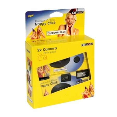 Happy Click - aparat unica folosinta, ISO 400, 135-27 (2 buc)