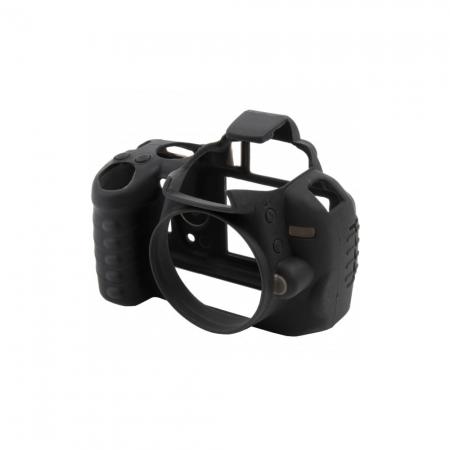 EasyCover Nikon D3000 - carcasa protectie cauciuc