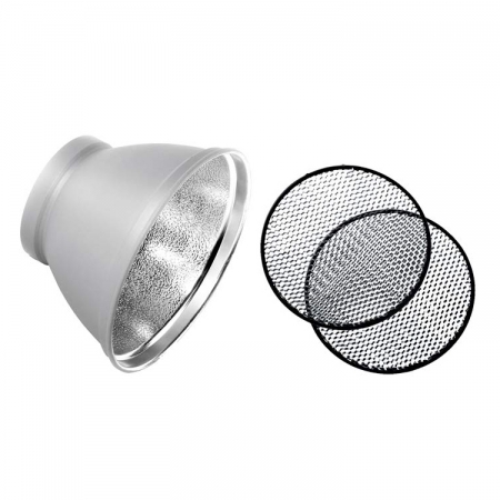 Elinchrom #26049 - set reflector si 2 grile 21cm