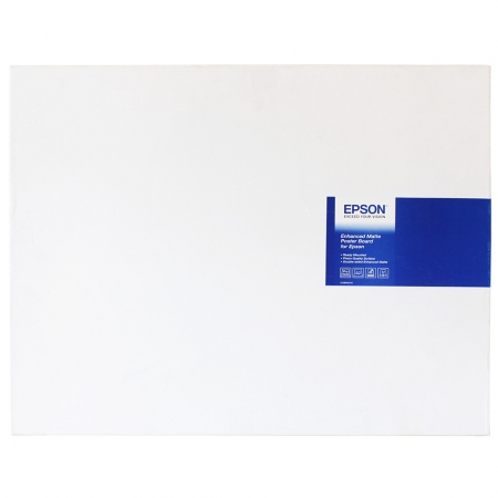 Epson Enhanced Matte Poster Board - hartie foto A2 20 coli 800g/mp
