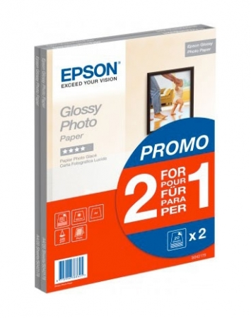 Epson Glossy hartie foto A4 - 40 coli - 225g/mp (S042179)