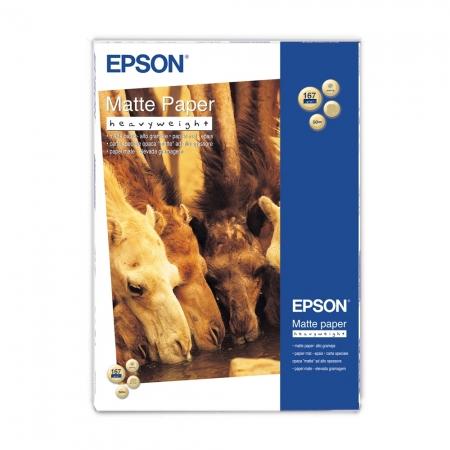 Epson Heavy Weight hartie foto mata A3+ - 50 coli - 167g/mp (S041264)