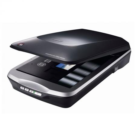 Epson Perfection V500 - scaner flatbed cu adaptor de transparenta