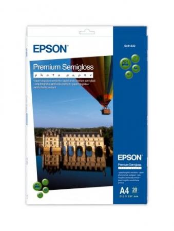 Epson Premium Semigloss hartie foto A4 - 20 coli - 250g/mp (S041332)