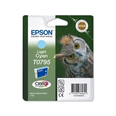 Epson T0795 - Cartus Imprimanta Photo Light Cyan pentru Epson R1400 - 1500w