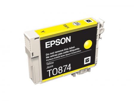 Epson T0874 - Cartus Imprimanta Yellow pentru Epson R1900