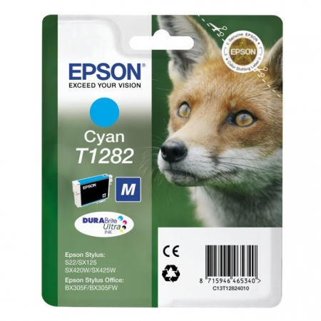 Epson T1282 - Cartus Imprimanta Cyan pentru Epson S22 / SX130