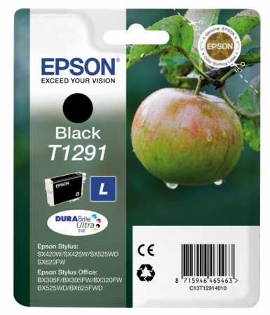 Epson T1291 - Cartus Imprimanta Photo Black (large) - Epson SX425W/SX430W/SX440W