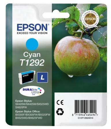 Epson T1292 - Cartus Imprimanta Cyan (large) - Epson SX425W/SX430W/SX440W