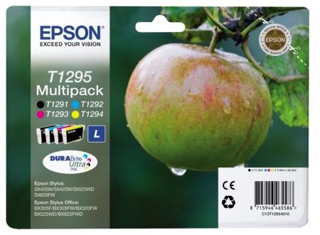 Epson T1295 DURABrite Ultra Ink - Kit cartuse (large) - Epson SX425W/SX430W/SX440W