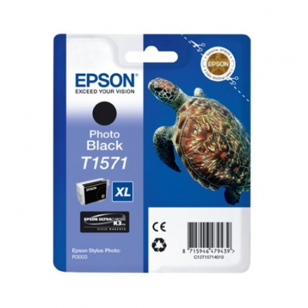 Epson T1571 - Cartus Imprimanta Photo Black pentru Epson R3000