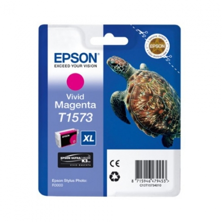 Epson T1573 - Cartus Imprimanta Photo Vivid Magenta pentru Epson R3000