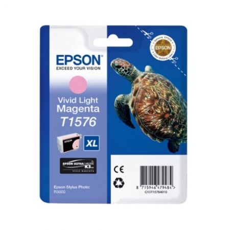 Epson T1576 - Cartus Imprimanta Photo Vivid Light Magenta pentru Epson R3000