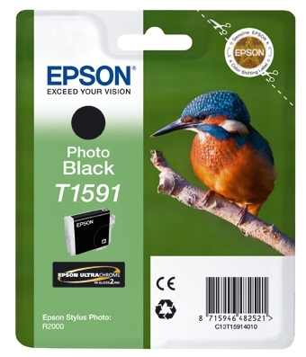Epson T1591 - Cartus imprimanta Photo Photo Black R2000