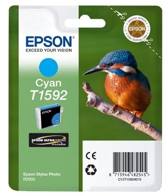 Epson T1592 - Cartus imprimanta Photo Cyan R2000