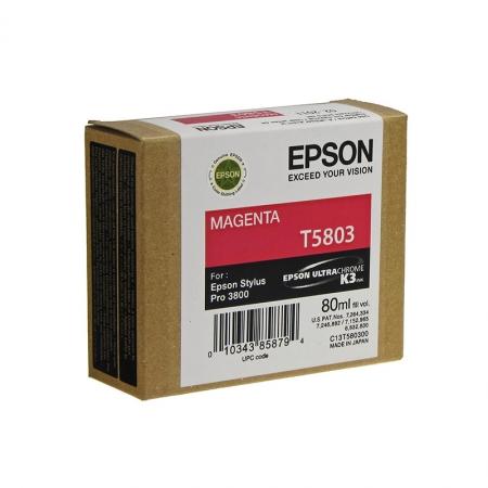 Epson T5803 - Cartus Imprimanta Photo Magenta pentru Epson Stylus Pro 3800