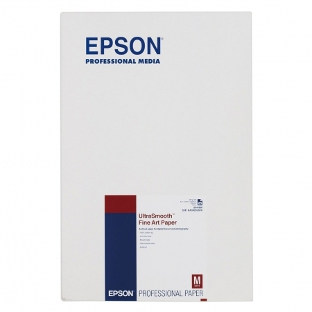 Epson UltraSmooth Fine Art Paper S041896 A3+ 325 g/m2 - hartie foto, 25 coli