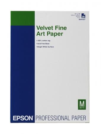 Epson Velvet Fine Art hartie foto A3 - 20 coli - 250g/mp (S041637)