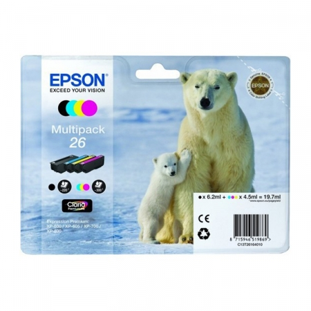 Epson XP Claria Premium - T2616 - Set Cerneala (4 culori )