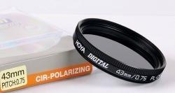 Filtru Hoya Polarizare Circulara 43mm