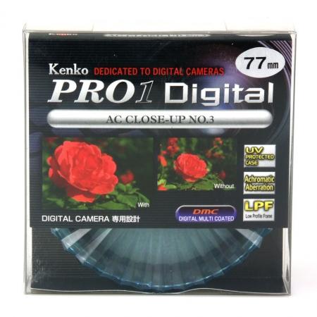 Filtru Kenko Close-Up +3 PRO1 D AC 77mm