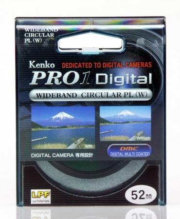 Filtru Kenko Polarizare Circulara PRO1 D 52mm