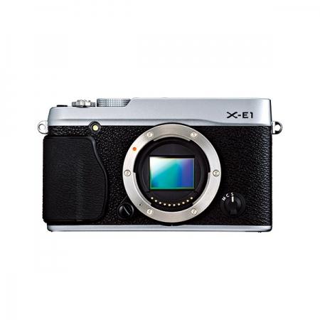 Fujifilm X-E1 argintiu body