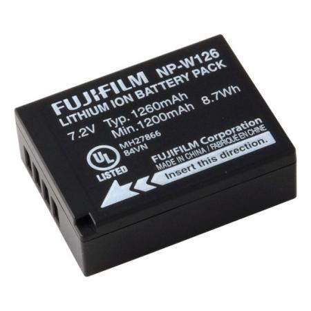 Fuji NP-W126 - acumulator pentru Fuji X-Pro1