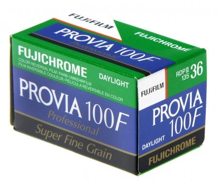 Fujifilm Fujichrome Provia 100F - film diapozitiv color ingust (ISO 100, 135-36)