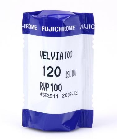 Fujifilm Fujichrome Velvia 100 Professional - film diapozitiv color lat (ISO 100, 120)