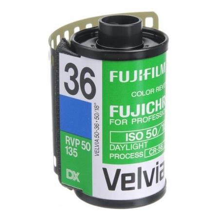 Fujifilm Fujichrome Velvia 50 RVP - film diapozitiv color ingust (ISO 50, 135, 36 cadre)