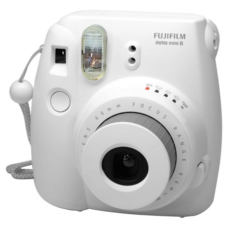 Fujifilm Instax Mini 8 alb - aparat foto instant