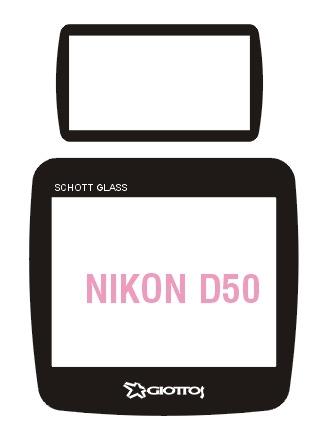 Giottos SP6201 Professional Glass Optic Screen Protector pentru Nikon D50