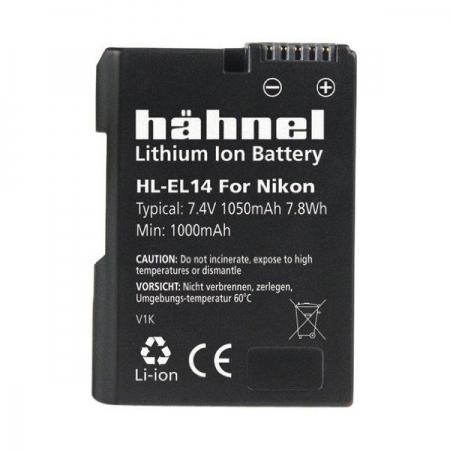 Hahnel HL-EL14 - acumulator replace tip Nikon EN-EL14