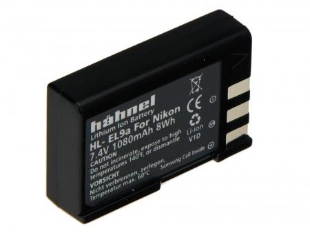 Hahnel HL-EL9A - Acumulator tip Nikon EN-EL9A pentru Nikon D5000, 1080mAh