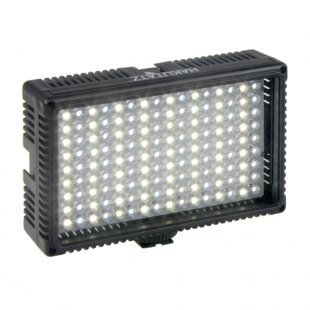 Hakutatz VL-144 - lampa video de camera cu 144 LED-uri si temperatura de culoare reglabila