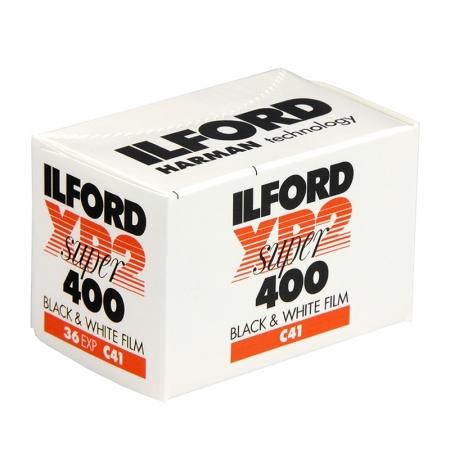 Ilford XP2 SUPER - film alb-negru negativ ingust (ISO 400, 135-36)