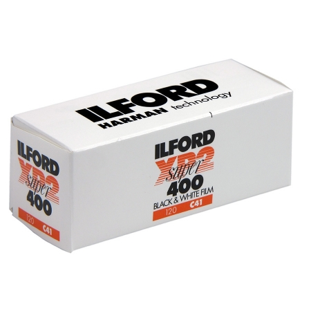 Ilford XP2 SUPER - film alb-negru negativ lat (ISO 400, 120)
