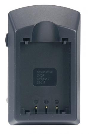 Incarcator compact pentru acumulatori Li-Ion tip DB-L10B,Li-10B,Li-12B pentru Olympus.(cod ACMP110).