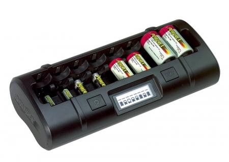 Incarcator rapid Maha MH-C808M-E pt 8 acumulatori (tip AA, AAA, C, D)