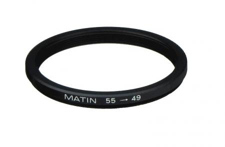 Inel reductie Step-down Metalic 55-49mm