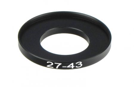 Inel reductie Step-up metalic de la 27-43mm