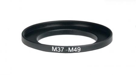 Inel reductie Step-up metalic de la 37-49mm