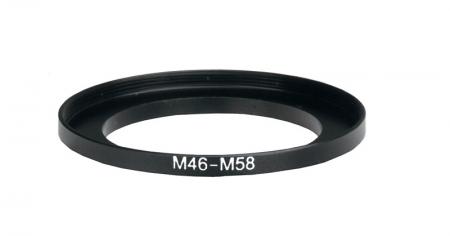 Inel reductie Step-up metalic de la 46-58mm